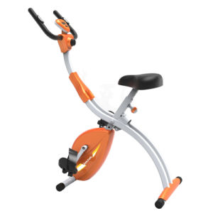 Indoor Fitness Magnetic Aerobic X-Bike for Teenagers with Computer