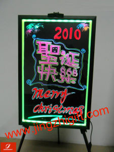 Full Color Remote Control Illuminated Rewritable LED Signboard (JZF-57)