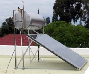 Solar Energy--Flat-Plated Solar Hot Water System