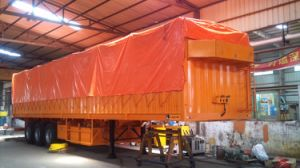 40 Feet 3 Axles High Walled Semi Trailer pictures & photos