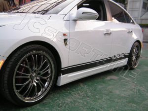 PU Cruze 2009 up Body Styling Side Skirts