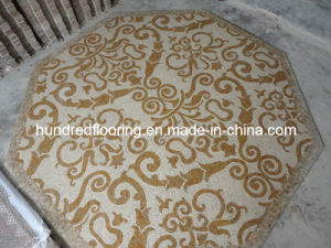 Stone Mosaic Floor Tile, Marble Mosaic Pattern (STP87) pictures & photos