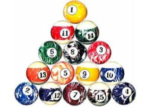 Billiard Balls(B-25)