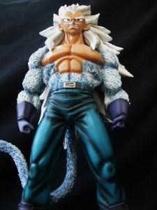 "Dagonball Z 13"" Super Saiyan 5 Vegeta Resin Statue New"