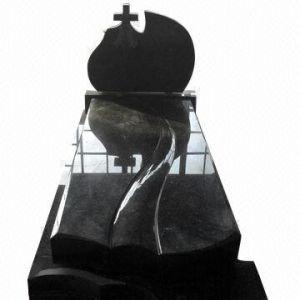 Shanxi Black Granite Tombstone, Granite Headstone, Granite Monument pictures & photos
