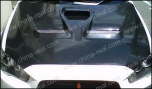 Mitsubishi Lancer Evolution/Evo Carbon Hoods pictures & photos
