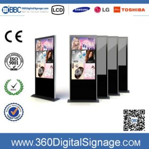 55′′ HD LCD Media Player LCD Advertising Display