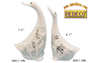 Home Decoration Ceramic Duck Figurine