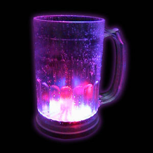 LED Flashing Beer Mug (QBM-025) pictures & photos