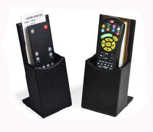 PU Leather Remote Control Box, TV Holder (PB164)