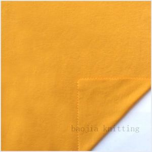 100% Cotton Brushed Interlock Fabric