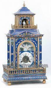 Cloisonne Clock (JG077)