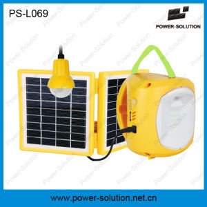 Qualified 4500mAh/6V Solar Lantern with Mobile Phone Charger with Solar Light Bulb for Room pictures & photos