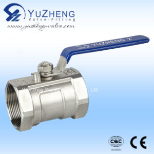 Stainless Steel Inner Thread 1PC Ball Valve with CE Certificate pictures & photos