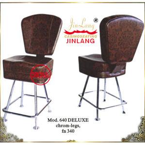 Casino Chair (Mod. 640 DELUXE Chrom-Legs, FN 340)