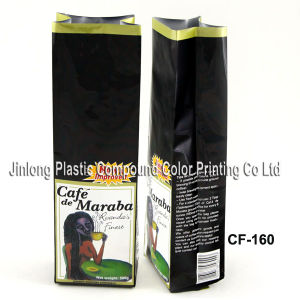 Aluminium Foil Coffee Packaging Bag with Bellows pictures & photos