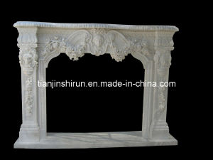 Marble Carved Fireplace (2827) pictures & photos