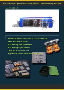 Top PS Lunch Box Thermoforming Production Line Xg Equipment pictures & photos