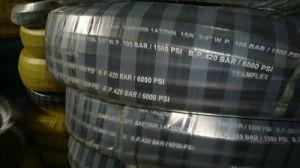 Steel Wire Braided Hydraulic Rubber Hose (DIN EN853 2SN)