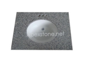 G640 White Granite Vanity Top
