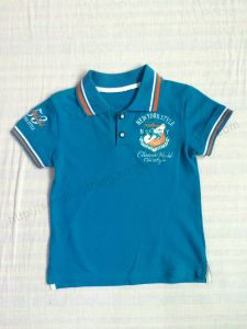 2017 New Style Boy Polo Shirt Sq-6260 pictures & photos