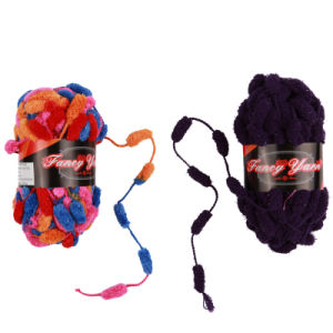 Colorful Pompon Fancy Yarn pictures & photos