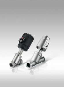 Pneumatic Thread Angle Seat Valves PA Head pictures & photos