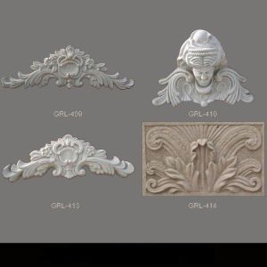 Glass-Fiber Grc Decorative Window Trim Moulding Architectural Used pictures & photos