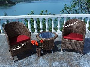 Garden Modern PE Wicker Chair (CNS-2267-R)