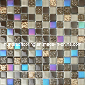 Bathroom and Kitchen Wall Tile Glass Mosaic (HGM221) pictures & photos