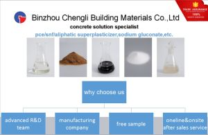 Producing Polycarboxylate Superplasticizer Based Concrete Admixture (PCE) pictures & photos