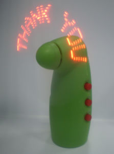 Programmable Mini Message Fan (QDB-020C) pictures & photos