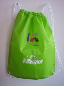 Drawstring Gift promotional Shopping Packaging Backpack pictures & photos