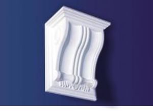 Exotic White Decorative Corbels Carvings Fire-Proof for House pictures & photos