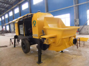 Stationery Concrete Pump with Diesel Engine (HBT80.16.161RSB)