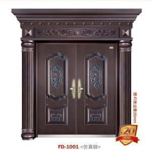Entrance Door Cold Steel Door Metal Door (FD-1001) pictures & photos