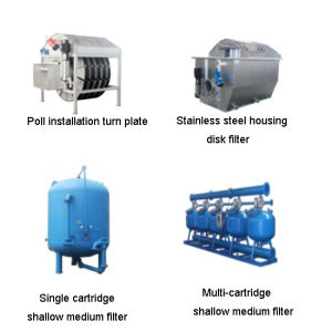 Self Cleaning Filters for Liquids by Removing Contamination pictures & photos