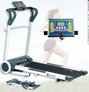 Mini Foldable Motorized Treadmill; Fitness Equipment Treadmill (UJK-3901) pictures & photos