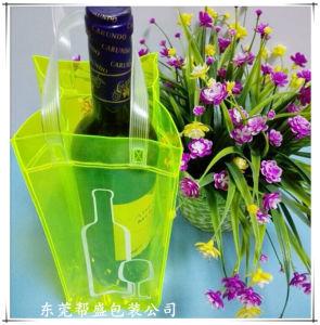 Custom Colorful PVC Ice Bag. Handle Promotional Bag Plastic Handbag pictures & photos