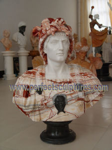 Stone Marble Sculpture Head Bust for Figurine Statue (SY-S311) pictures & photos