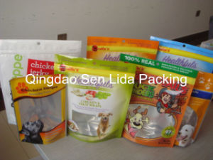 Stand up Pouch Plastic Bag for Pet Food Bag (L18) pictures & photos
