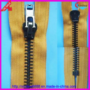 Anti Brass Zipper pictures & photos