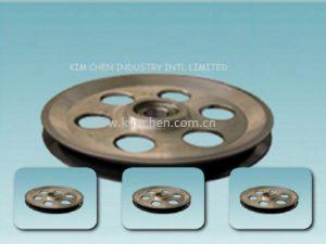 Ceramic Coating Aluminium Idler Pulley-2/Aluminum Idler Pulley pictures & photos