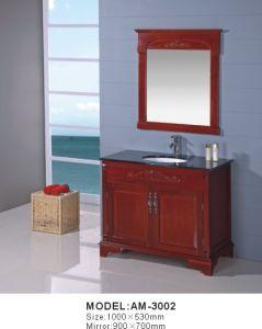 Solid Wood Bathroom Cabinet & Vanity (AM-3002)