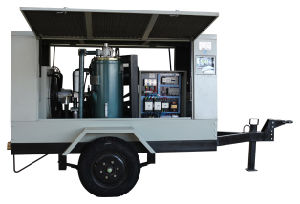 Explosion Proof Portable Screw Air Compressor pictures & photos