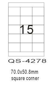 A4 Computer Printing Label-QS4278