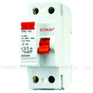 F360 Residual Current Circuit Breaker Knl1-63 pictures & photos