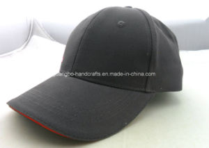 Customized Gray Polyester 6 Panel Basball Sport Hat pictures & photos