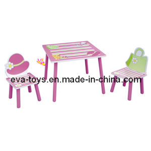 Beautiful Design Kid Study Desk and Chairs (W08G015) pictures & photos