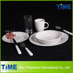 Porcelain Pure White Promotional Dinnerware pictures & photos